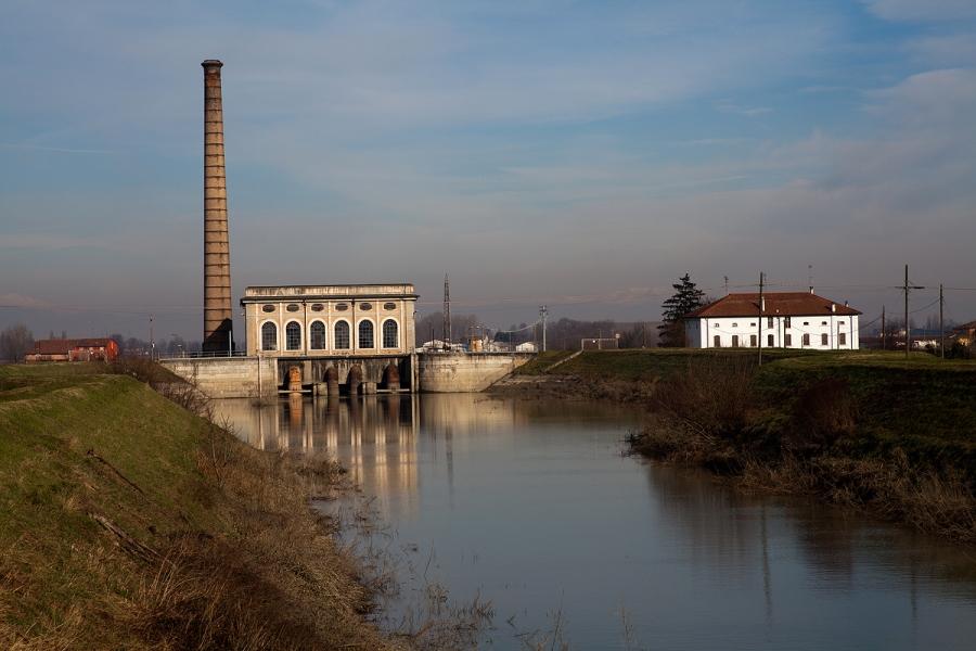 Stabilimento idrovoro di Borgoforte (MN)