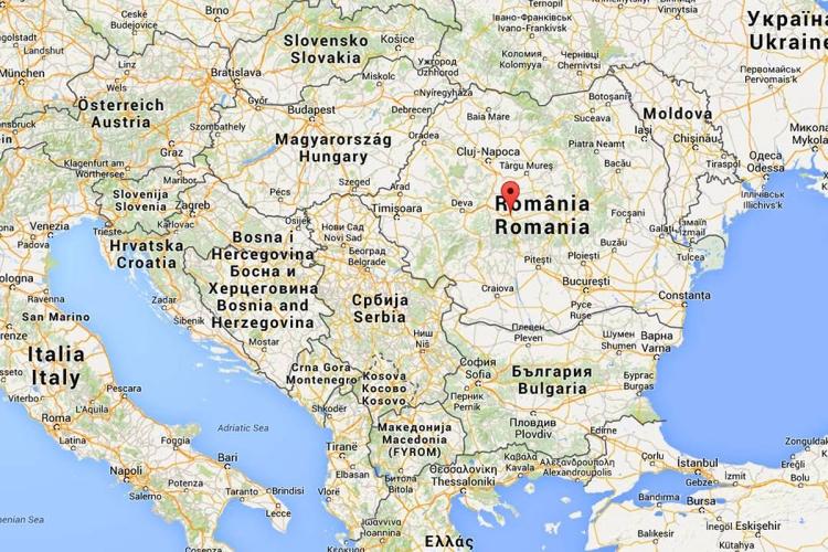 Mappa Sibiu