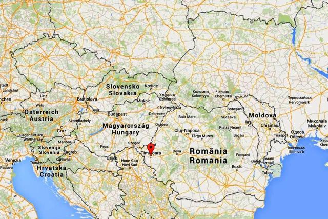 Mappa Timisoara